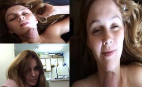 Cute Girlfriend Fucking And Sucking